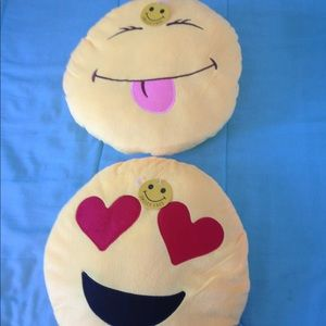 Other - Two Emoji Pillows